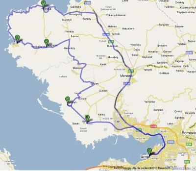Yeni-Foça-yol-harita